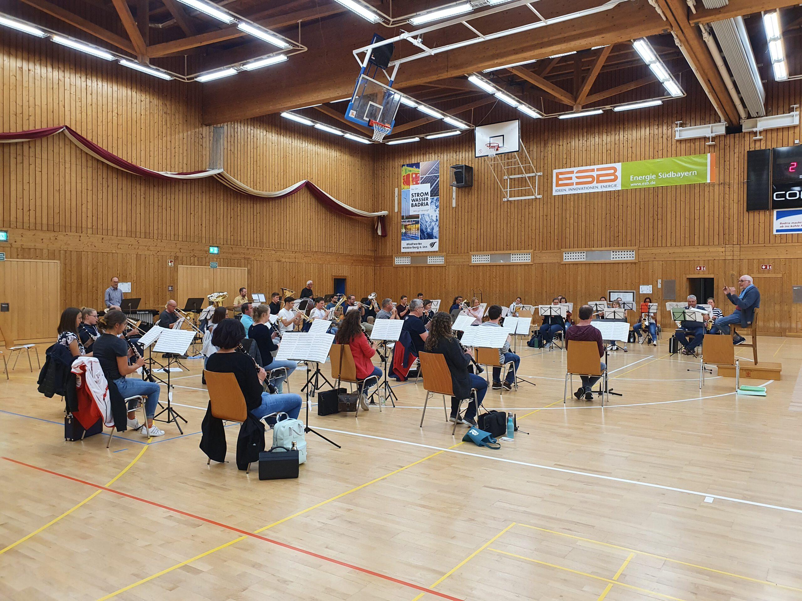 Read more about the article Vorsichtiger Optimismus bei der Wasserburger Stadtkapelle