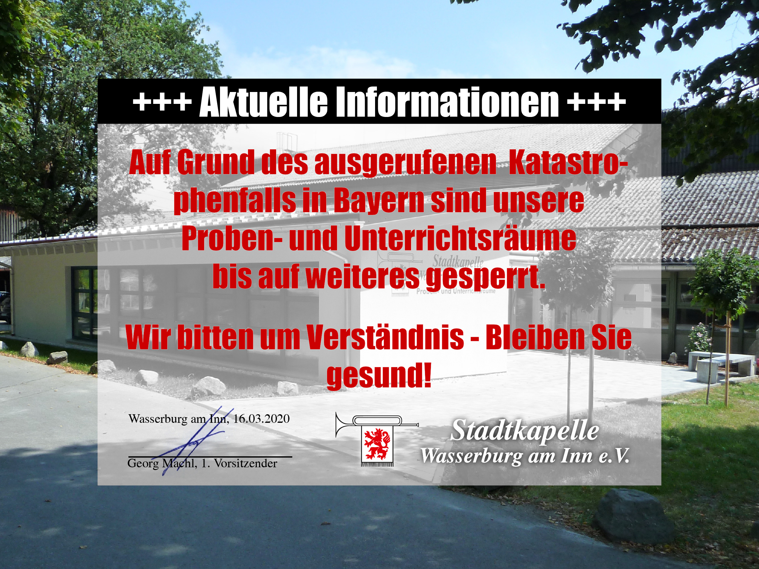 Read more about the article Aktuelle Informationen