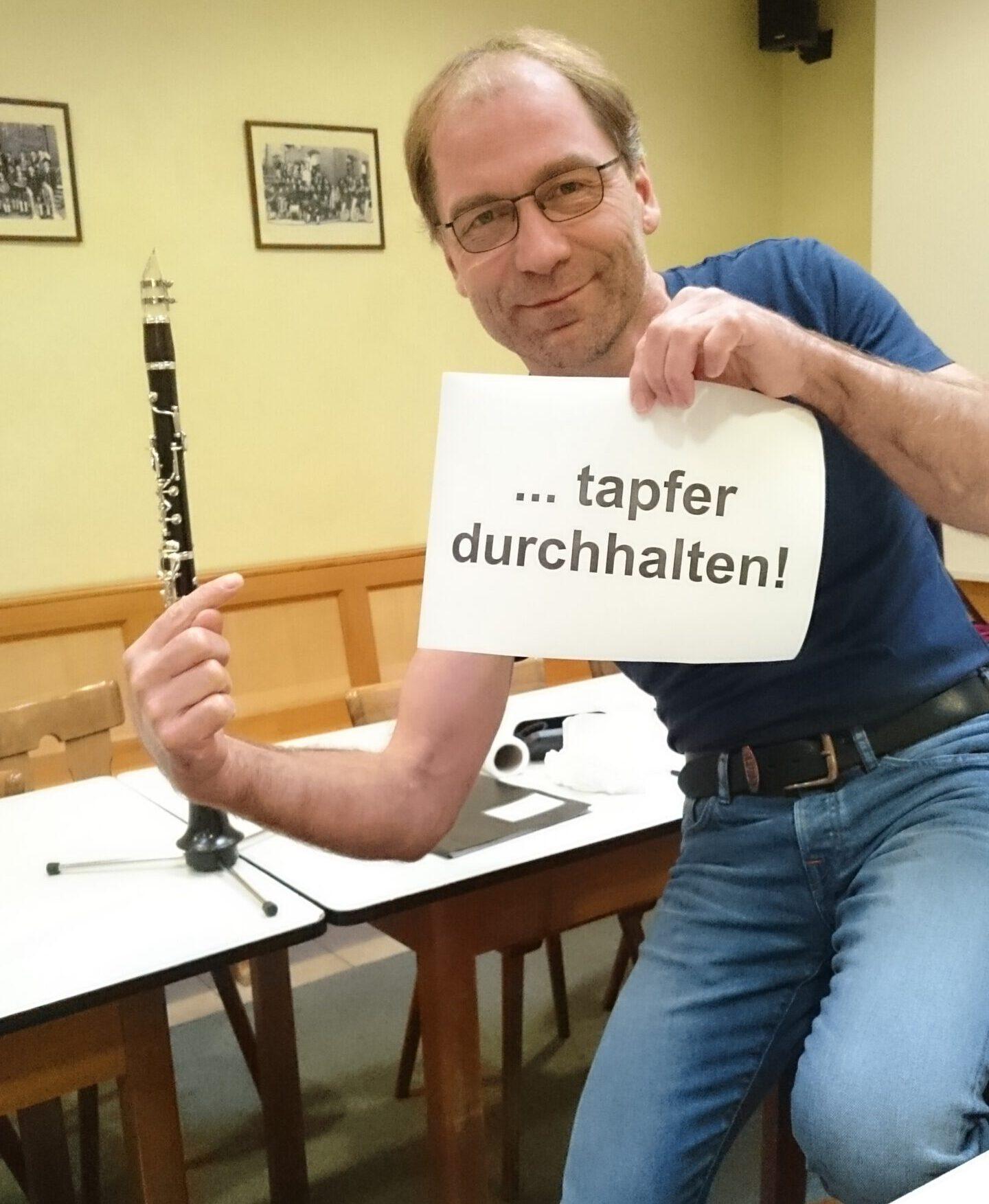 Read more about the article Bläserausbildung bei der Stadtkapelle als Online-Unterricht