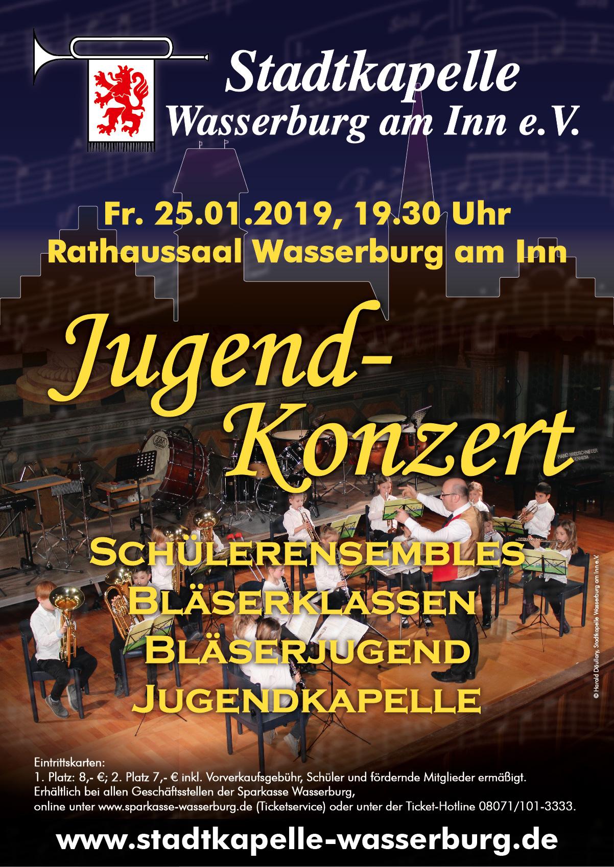 Jugend-Konzert am 25. Januar 2019
