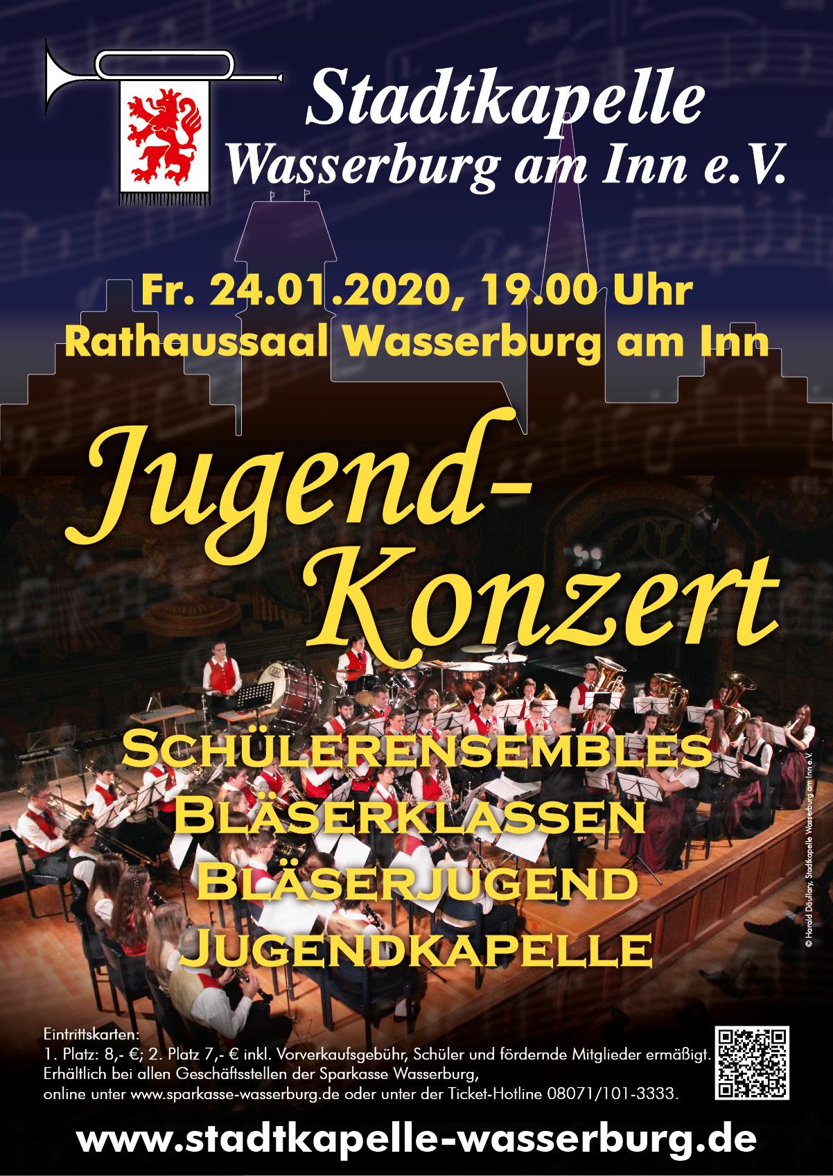 Jugend-Konzert am 24. Januar 2020