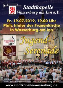 Jugend-Serenade @ Platz hinter dem Rathaus | Wasserburg am Inn | Bayern | Deutschland