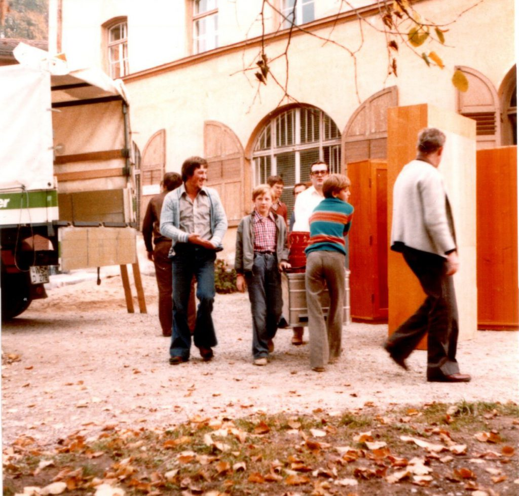 1977 - probenheimumzug 1977