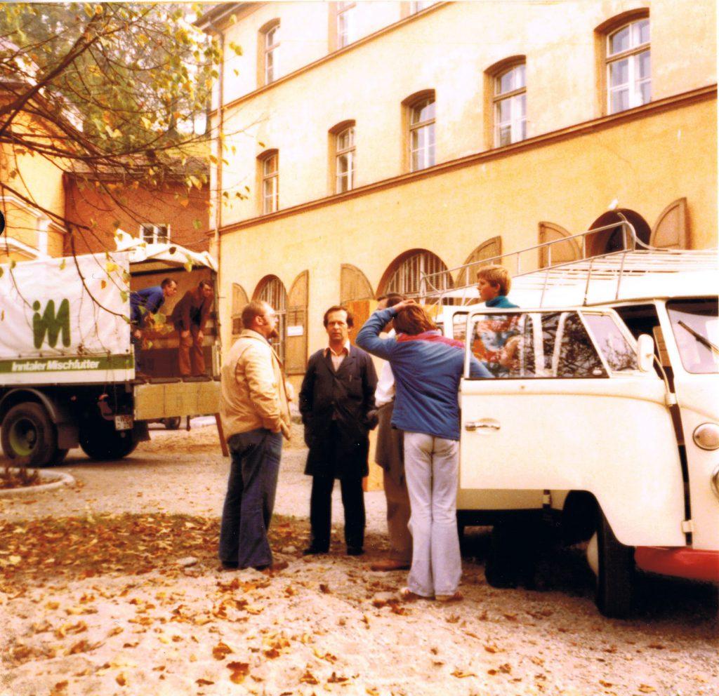 1977 - probenheimumzug 2