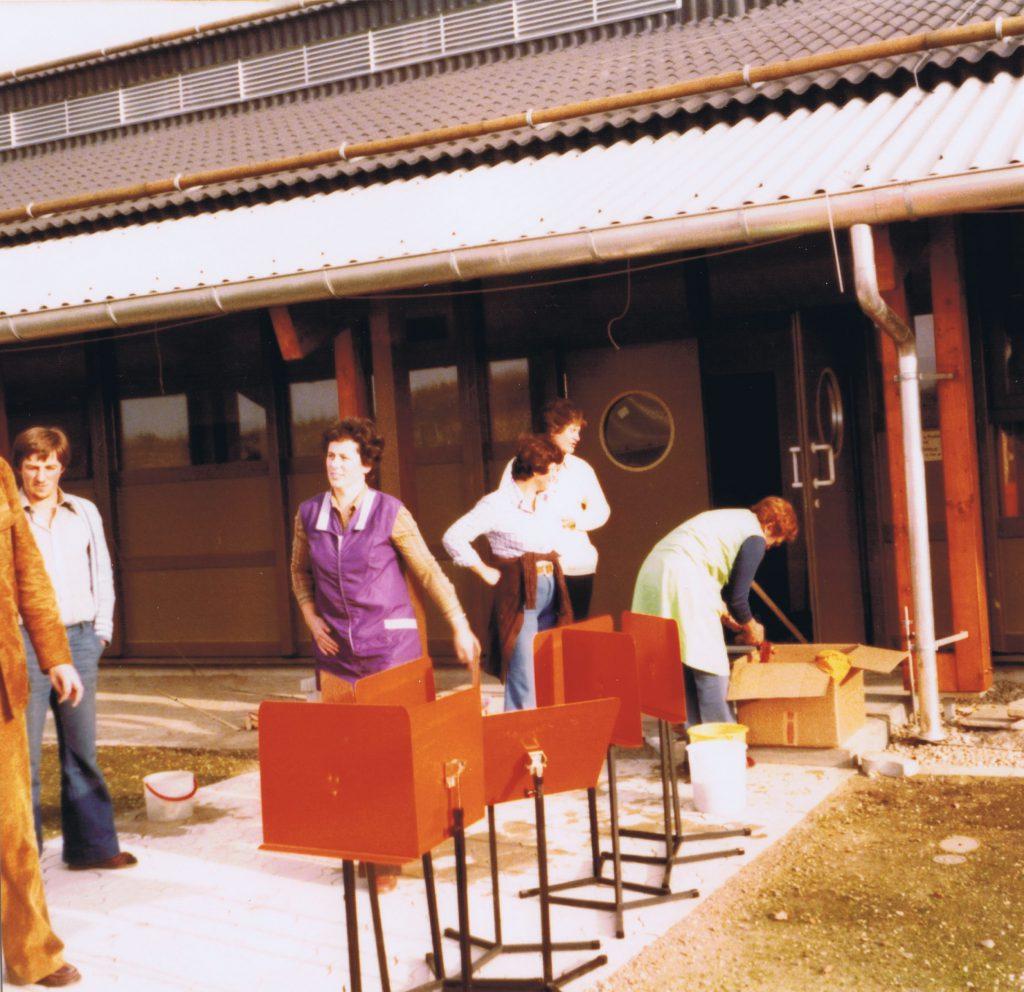 1977 - probenheimumzug 3